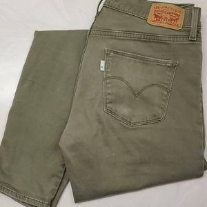 Levi's Green Shaping skinny jeans
